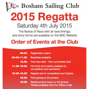 BSC Regatta Poster
